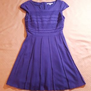 Antonio Melani fit and flare pleated Dress Size 6
